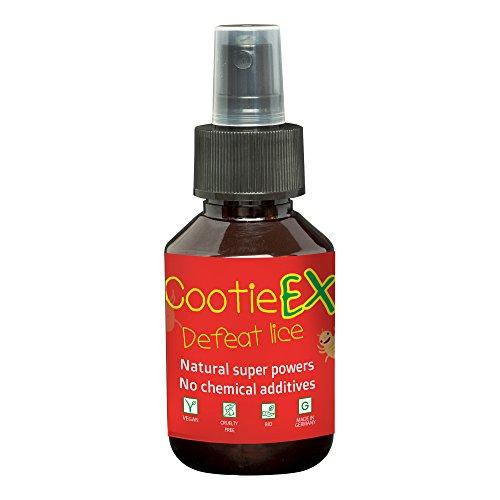 Kopfläuse Mittel von CootieEx | 100ml Bio Kopfläuse Spray gegen Kopfläuse | Tolle Ergänzung zu Nissenkamm & Läuseshampoo | Ideal für Kinder