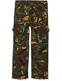 Boys 5-6 years DPM Woodland Camouflage Combat Cargo Trousers