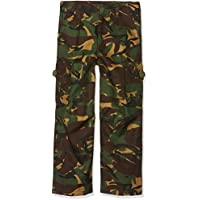 Pro Force Boys 7-8 Army Combats Woodland Camouflage Soldier Cargo Trousers