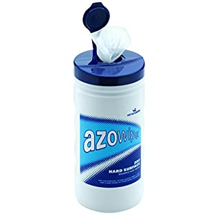 AzoWipes Hard Surface Wipes - Pack of 200