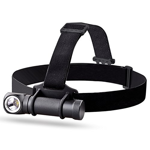micotools 1000Lumen CREE XM-L2U2LED wiederaufladbare Camping Scheinwerfer Scheinwerfer Mini Taschenlampe für Notfall mit einer 18650Akku, One Akku Ladegerät (Wiederaufladbare Scheinwerfer Taschenlampe)