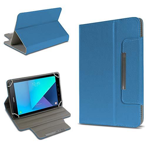 UC-Express Tablet Tasche kompatibel für Samsung Galaxy Tab Active 2 Hülle Tablet Schutzhülle Case Schutz Cover, Farben:Blau