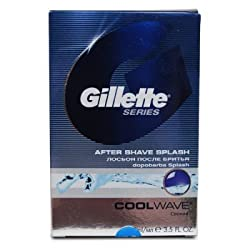 Gillette Series Cool Wave After Shave Splash (100ml) (pack of 2)