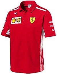 Polo oficial del equipo de Fórmula 1 de la escudería Ferrari de 2018 72bbf97c6f6