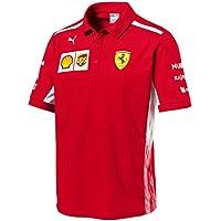 2018Offizielles Scuderia Ferrari Herren Polo Shirt F1Formula One Team echtes Puma