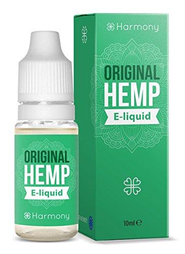CBD e-Liquid mit 300mg Cannabidiol - 10ml - Original Hanf Cannabis sativa Geschmack (nikotinfrei)