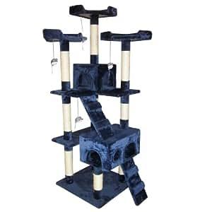 Leopet Katzen Kratzbaum mittelhoch ca. 170cm mit vielen Spiel und Kuschelmöglichkeiten in der Farbe Ihrer Wahl