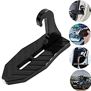 Klicop Auto Tür Ratch Hook Schritt Folding Mini Fußpedalleiter für Jeep SUV LKW Dach
