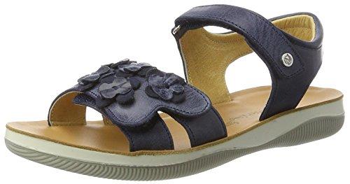 Naturino Mädchen 5740 Offene Sandalen, Blau, 34 EU