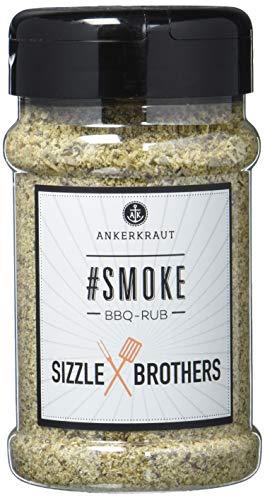 Ankerkraut #Smoke Sizzle Brothers BBQ Rub 210g im Streuer