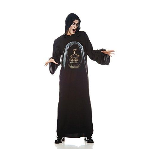 Unbekannt AEC-aq00741/STD-Kostüm-Tunika Skelett Erwachsene, Einheitsgröße