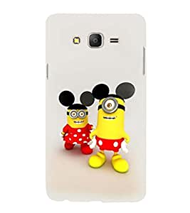 printtech Minion Mickey Minnie Mouse Back Case Cover for Samsung Galaxy On7