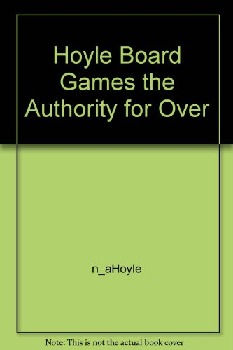 Hoyle Board Games the Authority for Over