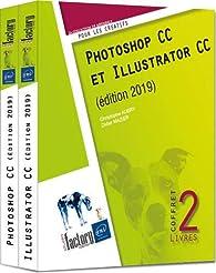 Photoshop CC et Illustrator CC  - Coffret de 2 livres par Didier Mazier