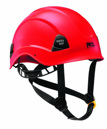 Petzl A10BRA Vertex Best casco confortevole per il lavoro in altezza e Rescue, rosso