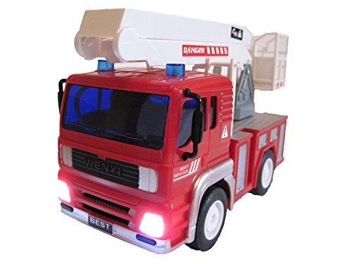 RC Feuerwehr kaufen Feuerwehr Bild 1: RC Feuerwehrauto ferngesteuertes Spielzeug Feuerwehr Auto Ferngesteuert NEU (Feuerwehrauto mit Hubleiter)*