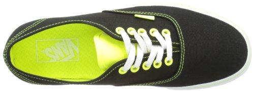 Vans U Authentic - Baskets Mode Mixte Adulte Noir (Neon Pop Blac)