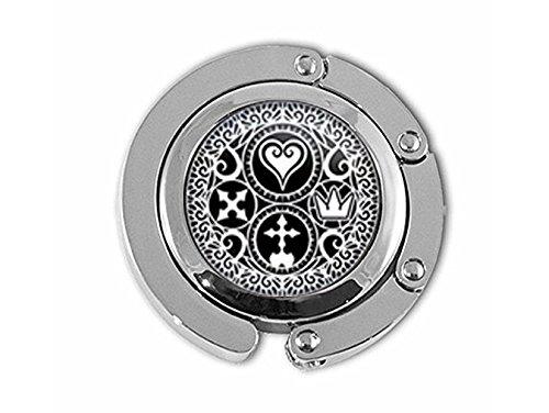 Handgefertigt Kingdom Hearts Ultimania Trinity Emblem Kleiderbügel, Kleiderbügel Geschenk für sie ihn, nekel gratis Schmuck