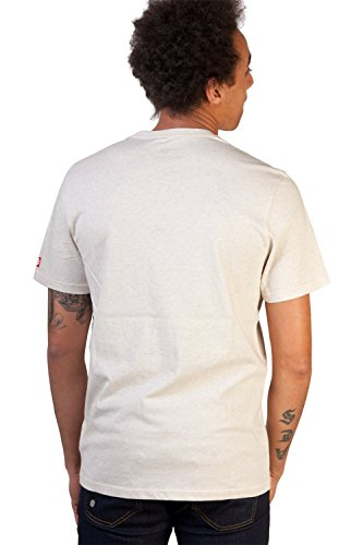Element Borough T-Shirt (ivory heather) White