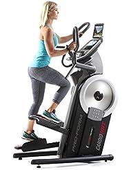 ProForm Cardio HIIT Trainer Hybride elliptique et Stepper Mixte Adulte, Gris Foncé