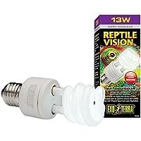 Exo Terra Bombilla Bajo Consumo Reptile Vision Spectrum, 13 W