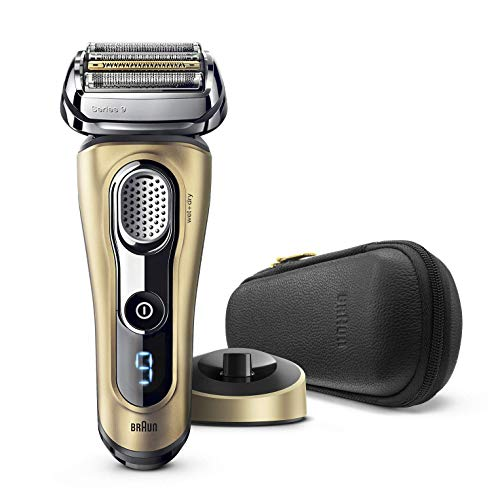 Braun Series 9 9299s Máquina de afeitar de láminas Recortadora Oro - Afeitadora (Máquina de afeitar de láminas, Oro, 50 min, 1 h, 75,5 mm, 190 mm)