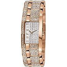 Esprit Damen-Armbanduhr Houston Analog Quarz Edelstahl ES000EW2007