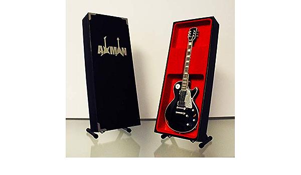 : Gibson Les Paul/ Vendeur Britannique /Guitare R/éplique Miniature Axman John Sykes Thin Lizzy//de Whitesnake