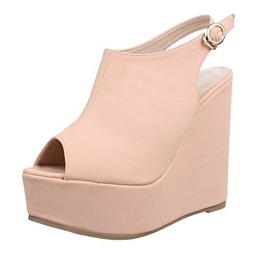 Ital-Design , chaussures compensées femme Altrosa