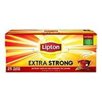 Lipton Yellow Label Black Tea Bags - Extra Strong, 25S