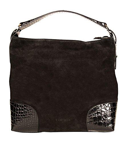 Kate Spade Designer-handtaschen (Italienische schulterraschen Fashion by FarFalla (Schwarz))