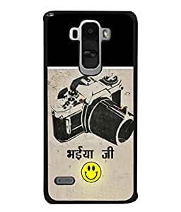 PrintVisa Vintage Camera With Wording High Gloss Designer Back Case Cover for LG G4 Stylus :: LG G4 Stylus H630D H631 H540