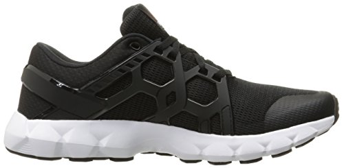 Reebok Hexaffect Run Synthétique Chaussure de Course Black-White