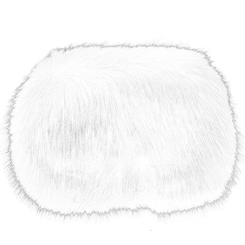Toocool - borsa donna borsetta tracolla handbag pelo pelliccia ecologica nuova po-15 [taglia unica,bianco]