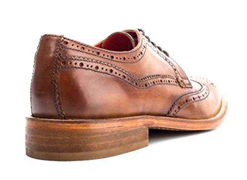 Base London Man Chaussure Perforée Analogique Tan Leather (tan) Tan