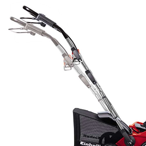 Einhell Elektro Vertikutierer-Lüfter GE-SA 1640 (1600 W, 40 cm Arbeitsbreite, bis 12 mm Arbeitstiefe, 4-fach höhenverstellbar, 48 l Fangsack, Holm) -