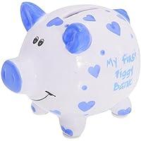 Lesser Pavey Jungen/Mädchen Sparschwein My First Piggy Bank (Einheitsgröße) (Blau) preisvergleich bei kinderzimmerdekopreise.eu