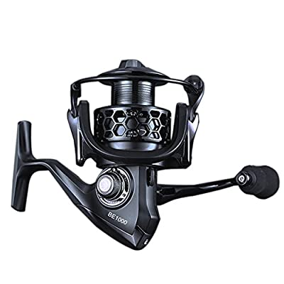 Spinning Fishing Reel iRegro Full Body Metal Spinning Reels with 12+1 High Speed BBs Left/Right Interchangeable Collapsible Handle for Freshwater/Saltwater Casting Fishing by iRegro