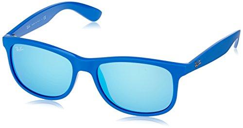 Ray-Ban - Gafas de sol Wayfarer Andy para hombre, Blue (Gafas De Sol Ray Ban)