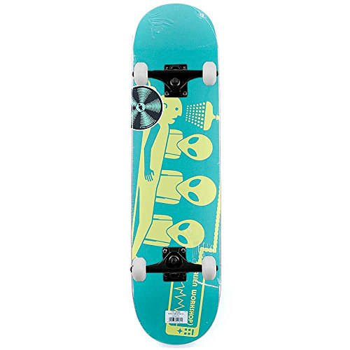 alien-workshop-skateboards-logo-dayglo-entfuhrung-komplett-skateboard-grun-206-cm