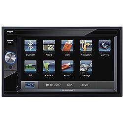 Blaupunkt Santa Cruz 370–de Doble DIN CD/MP3de Radio de Coche con Pantalla táctil/Bluetooth/USB/SD/iPod