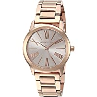 Michael Kors Hartman Watch for Women - Analog Stainless Steel Band - MK3491