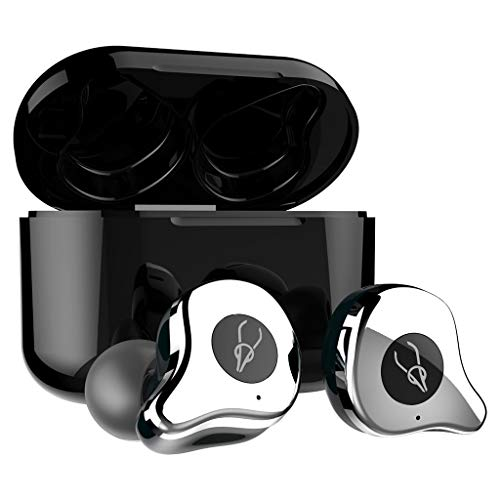 Yowablo Bluetooth Kopfhörer in Ear, Kabellos Kopfhörer Super Mini 3D Stereo Sound Bluetooth 5.0 Drahtlose Ohrhörer In-Ear-Kopfhörer Sport-Headset ( D )