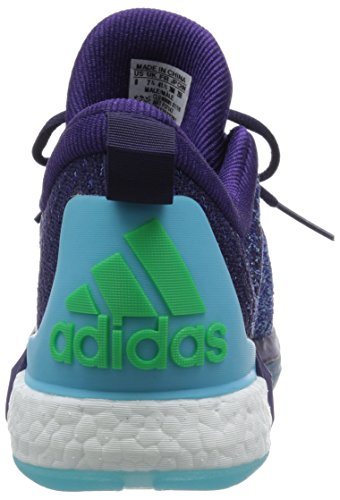 adidas Crazylight Boost 2.5 Low, Tongs Homme Multicolore - Morado / Azul / Rosa (Purosc / Briazu / Rosimp)