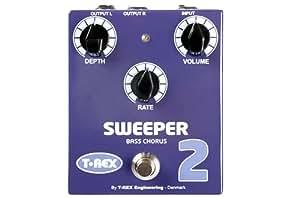 Effets basse T-REX SWEEPER 2 CHORUS BASSE Pédales basse
