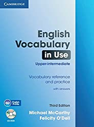 English Vocabulary in Use: Upper-intermediate: Book with answers and CD-ROM. Book with answers and CD-ROM