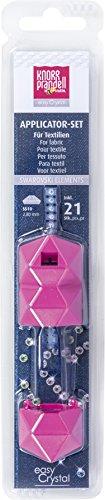 Knorr prandell 215003000 easy Crystal Set (für Textil zum punktgenauen Platzieren von Kristallsteinen, auf Textilien)