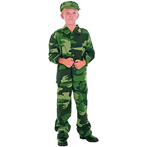 Disfraz militar niño - 10 - 12 años