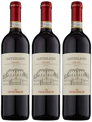 Marchesi De' Frescobaldi Castiglioni Chianti DOCG Tenuta di Castiglioni Tuscany 2014 Wine 75 cl (Case of 3)