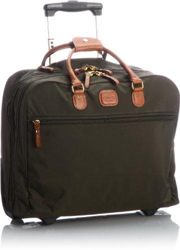 Bric\'s X-travel Laptop Rollkoffer, 40 cm, Grün (Olive)